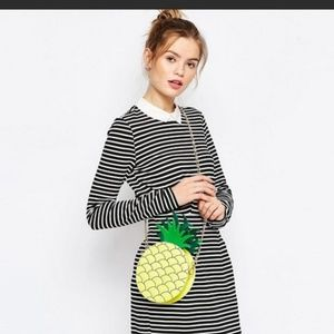 ASOS Skinnydip Pineapple Cross Body Bag